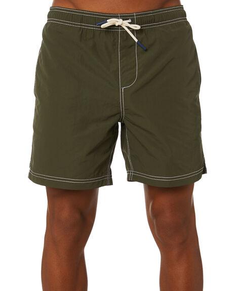 KHAKI MENS CLOTHING ACADEMY BRAND BOARDSHORTS - 20S728KHAK