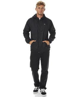 BLACK MENS CLOTHING VOLCOM JACKETS - A1511704BLK