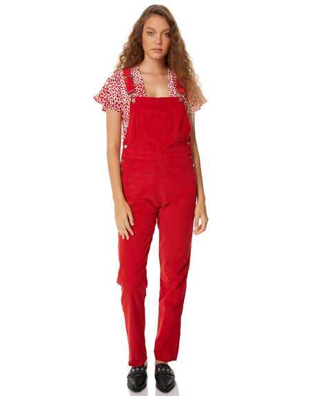 RED WOMENS CLOTHING RUE STIIC PLAYSUITS + OVERALLS - SW18-46RDRED