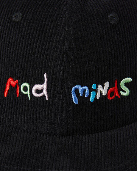 BLACK MENS ACCESSORIES MISFIT HEADWEAR - MT702008BLK