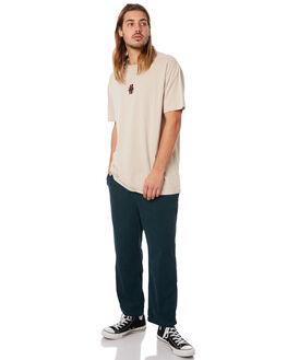 WHITE SAND MENS CLOTHING STUSSY TEES - ST073014WHTSD