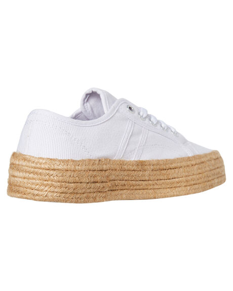 WHITE CANVAS WOMENS FOOTWEAR HUMAN FOOTWEAR SNEAKERS - CHARWCNVS