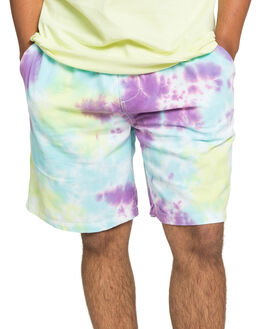 TIE DYE MENS CLOTHING QUIKSILVER SHORTS - EQYWS03687-PKLW