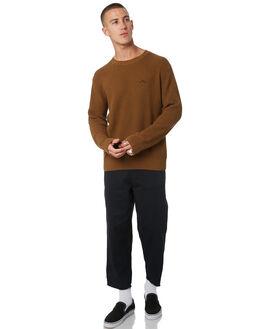 TOBACCO MENS CLOTHING MISFIT KNITS + CARDIGANS - MT095302TOBCO