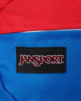 RED WHITE BLUE MENS ACCESSORIES JANSPORT BAGS + BACKPACKS - JS00TAN1-JS52Y