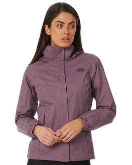 BLACK PLUM WOMENS CLOTHING THE NORTH FACE JACKETS - NF0A2VCU559BPLUM