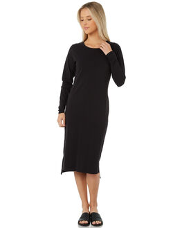 BLACK WOMENS CLOTHING SWELL DRESSES - S8172477BLACK