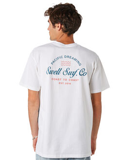 WHITE MENS CLOTHING SWELL TEES - S5202005WHITE