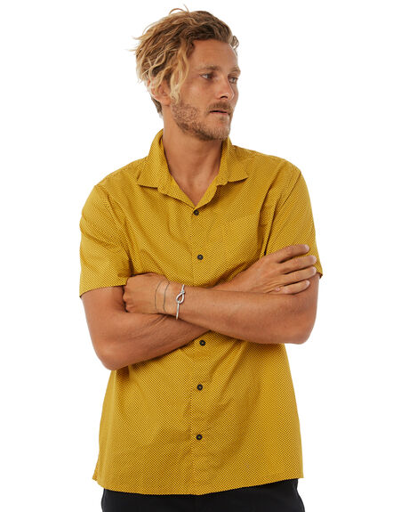 GOLDIE MENS CLOTHING RVCA SHIRTS - R383185GLDI