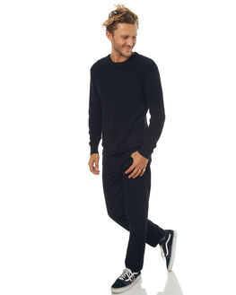 BLACK MENS CLOTHING SWELL KNITS + CARDIGANS - S5171146BLK
