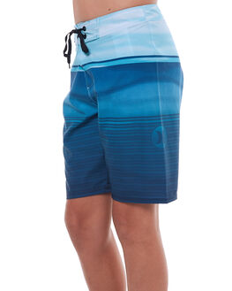 SPACE BLUE KIDS BOYS HURLEY BOARDSHORTS - ABBSFRED4JD