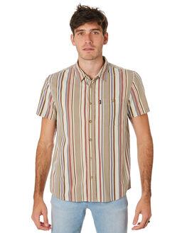 EARTH STRIPE MENS CLOTHING WRANGLER SHIRTS - 901676MQ1