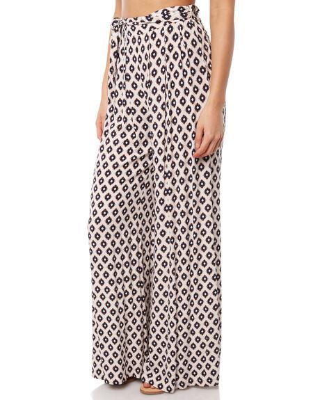 WHITE WOMENS CLOTHING TIGERLILY PANTS - T381370WHT