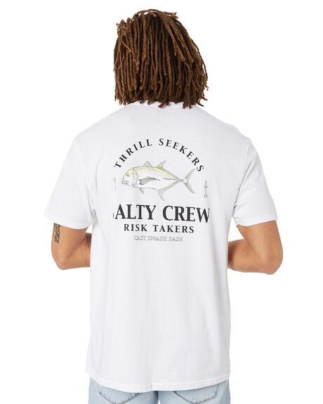 WHITE MENS CLOTHING SALTY CREW TEES - 20035375WHT