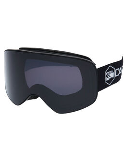 MATT BLACK GREY BOARDSPORTS SNOW CARVE GOGGLES - 6220-04MBLKG