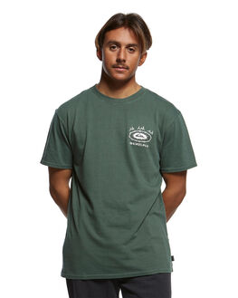 GARDEN TOPIARY MENS CLOTHING QUIKSILVER TEES - EQYZT05466-GRT0