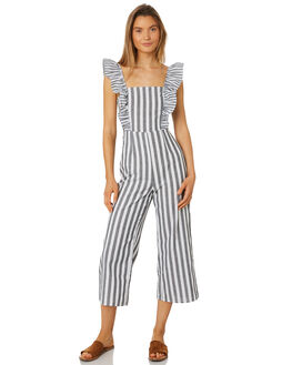 CHARCOAL WHITE WOMENS CLOTHING THE FIFTH LABEL PLAYSUITS + OVERALLS - 40190140-5CHAR