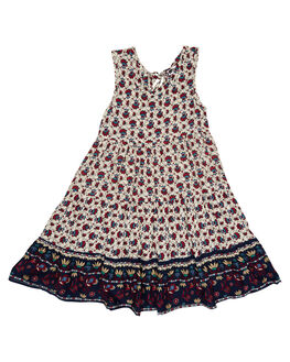 SOUK BORDER MAROON KIDS TODDLER GIRLS SWEET CHILD OF MINE DRESSES + PLAYSUITS - MALIDRESS-SOU
