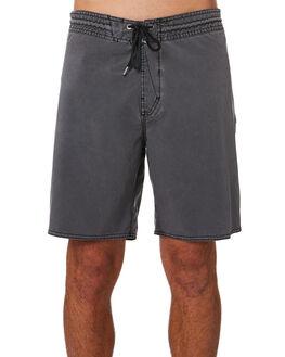 BLACK MENS CLOTHING VOLCOM BOARDSHORTS - A0801904BLK