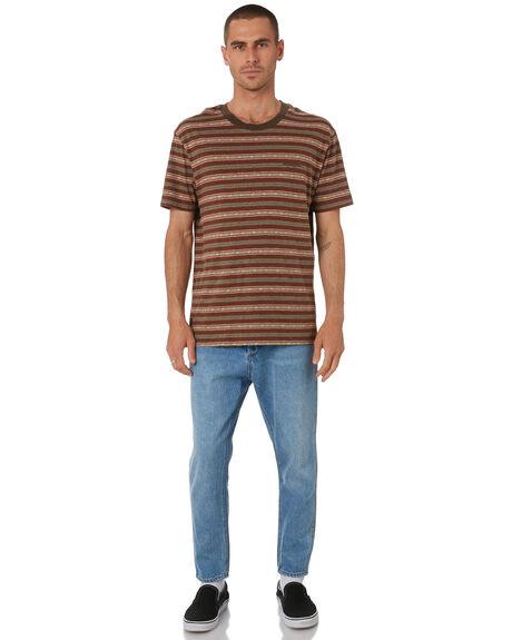 TRIBAL STRIPE MENS CLOTHING WRANGLER TEES - W-901808-NX5