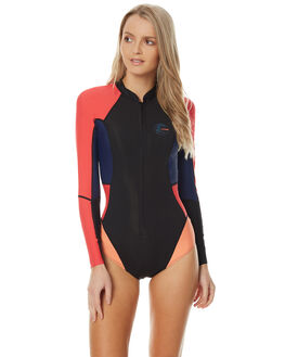 BLACK RED NAVY SURF WETSUITS O'NEILL SPRINGSUITS - 3023002S175