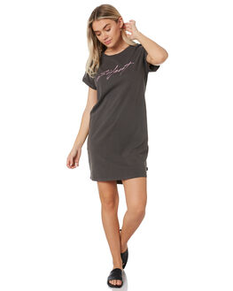 COAL WOMENS CLOTHING SILENT THEORY DRESSES - 6054005COAL