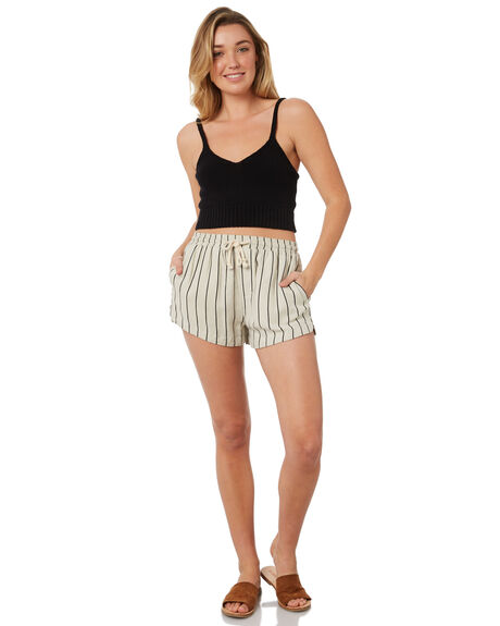 BLACK OUTLET WOMENS SWELL SINGLETS - S8184273BLACK