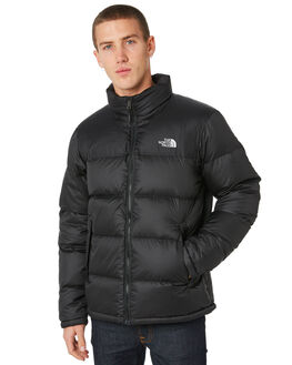 BLACK MENS CLOTHING THE NORTH FACE JACKETS - NF0A33QCKX7