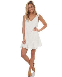 WHITE WOMENS CLOTHING REVERSE DRESSES - 3944-2WHT
