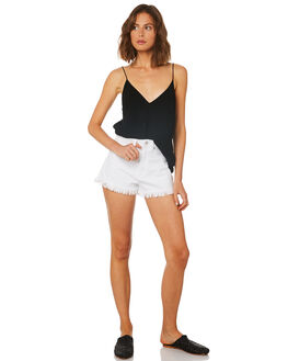 WHITE WASH WOMENS CLOTHING A.BRAND SHORTS - 71366-3783