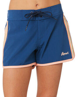 DARK BLUE KIDS GIRLS RIP CURL SHORTS + SKIRTS - JBOAA93155