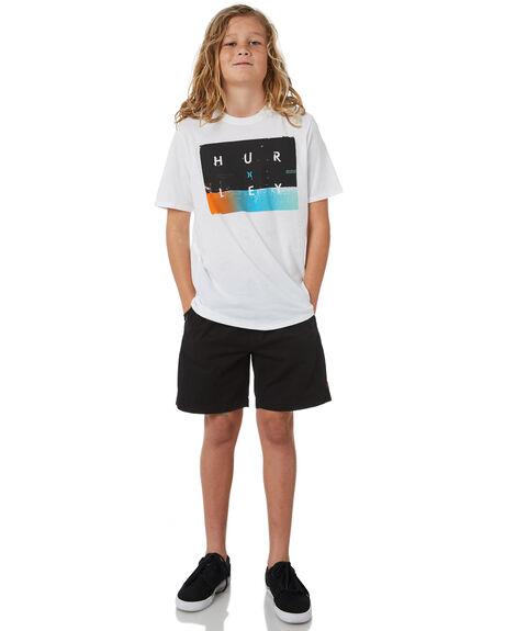 BLACK KIDS BOYS ELEMENT SHORTS - 383363BLK