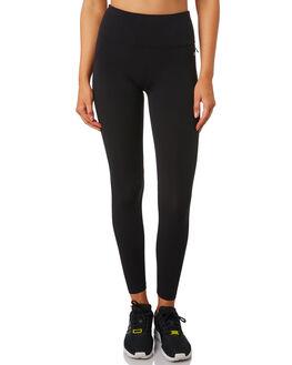 BLACK WOMENS CLOTHING LORNA JANE ACTIVEWEAR - LB0180BLK