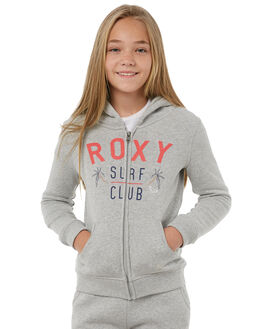 HERITAGE HEATHER KIDS GIRLS ROXY JUMPERS - ERGFT03247SGRH