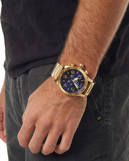 ALL GOLD BLUE SUNRAY MENS ACCESSORIES NIXON WATCHES - A0832735