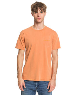 APRICOT BUFF MENS CLOTHING QUIKSILVER TEES - EQYKT03968-NLF0