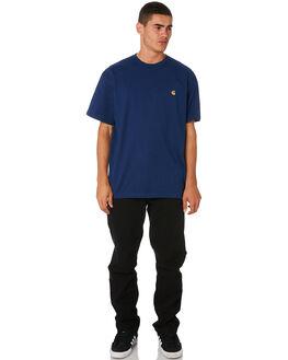 METRO BLUE MENS CLOTHING CARHARTT TEES - I026391MBLU