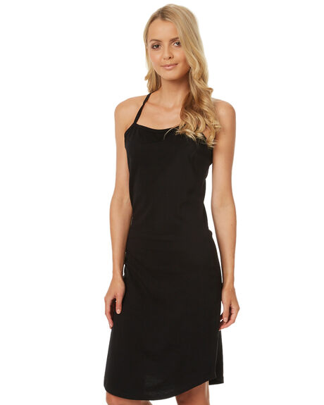 BLACK WOMENS CLOTHING SWELL DRESSES - S8174443BLK