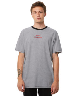 STRIPE OUTLET MENS NO NEWS TEES - N5182004STRIP