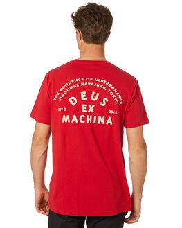 CHILLI PEPPER MENS CLOTHING DEUS EX MACHINA TEES - DMS81094ACHILL