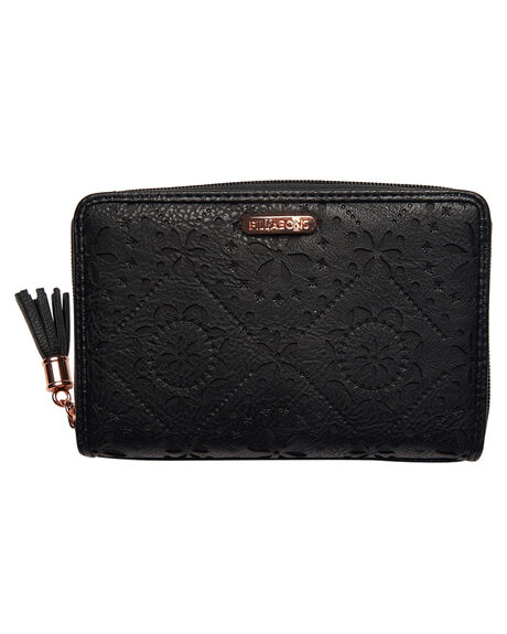 BLACK WOMENS ACCESSORIES BILLABONG PURSES + WALLETS - 6672210BBLK