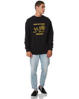 FLOYD BLACK MENS CLOTHING INSIGHT JUMPERS - 5000002551FBLK