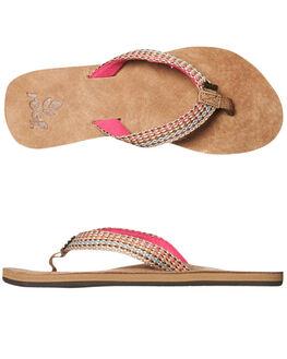 PINK WOMENS FOOTWEAR REEF THONGS - 1511PNK