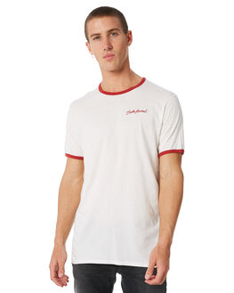 OFF WHITE OUTLET MENS BANKS TEES - WTS0259OWH