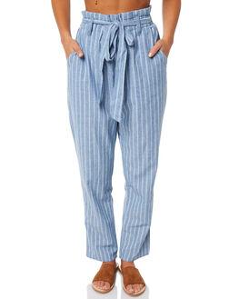 BLUE WOMENS CLOTHING RHYTHM PANTS - JUL18W-PA01BLU