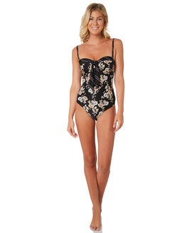 BLACK WOMENS SWIMWEAR SEAFOLLY ONE PIECES - 10836DD613BLK