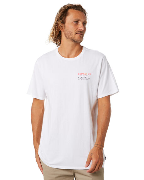 WHITE MENS CLOTHING DEPACTUS TEES - D5204003WHITE