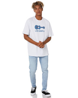 WHITE MENS CLOTHING PATAGONIA TEES - 38503WHI