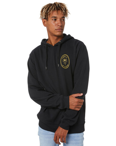 BLACK MENS CLOTHING SWELL JUMPERS - S5193447BLACK