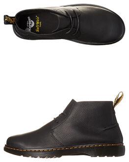 BLACK MENS FOOTWEAR DR. MARTENS BOOTS - SS20894001BLKM